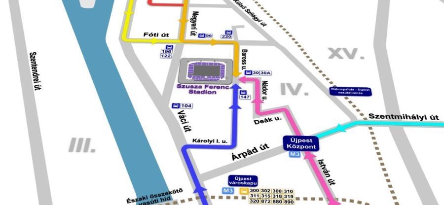Így juthatsz el a Szusza Ferenc Stadionba