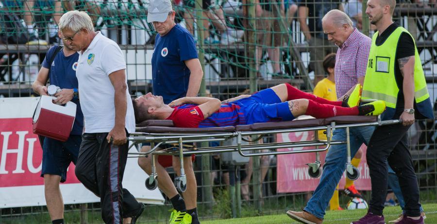 Két játékosunk is súlyos sérülést szenvedett