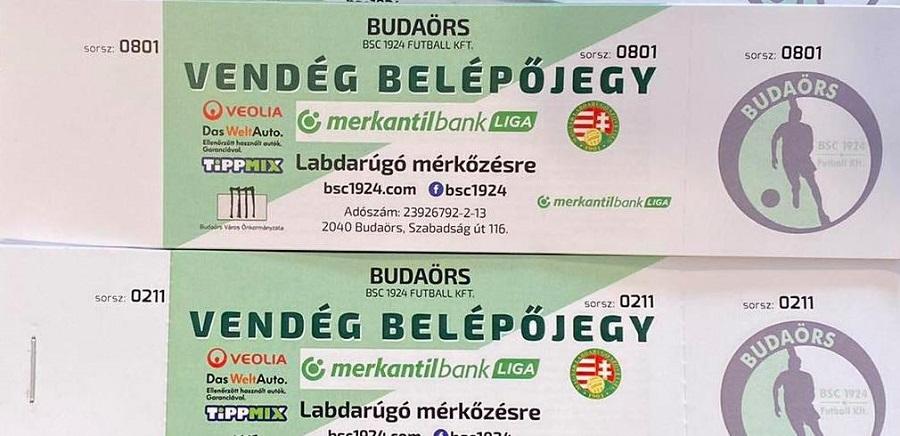 Szurkolói információk a Budaörs elleni kupamérkőzésre