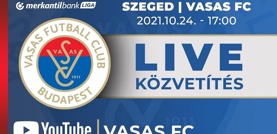 Élőben közvetítjük a Szeged elleni meccset is!