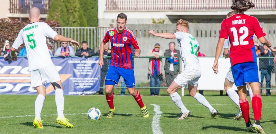7-2-re nyertünk Csornán