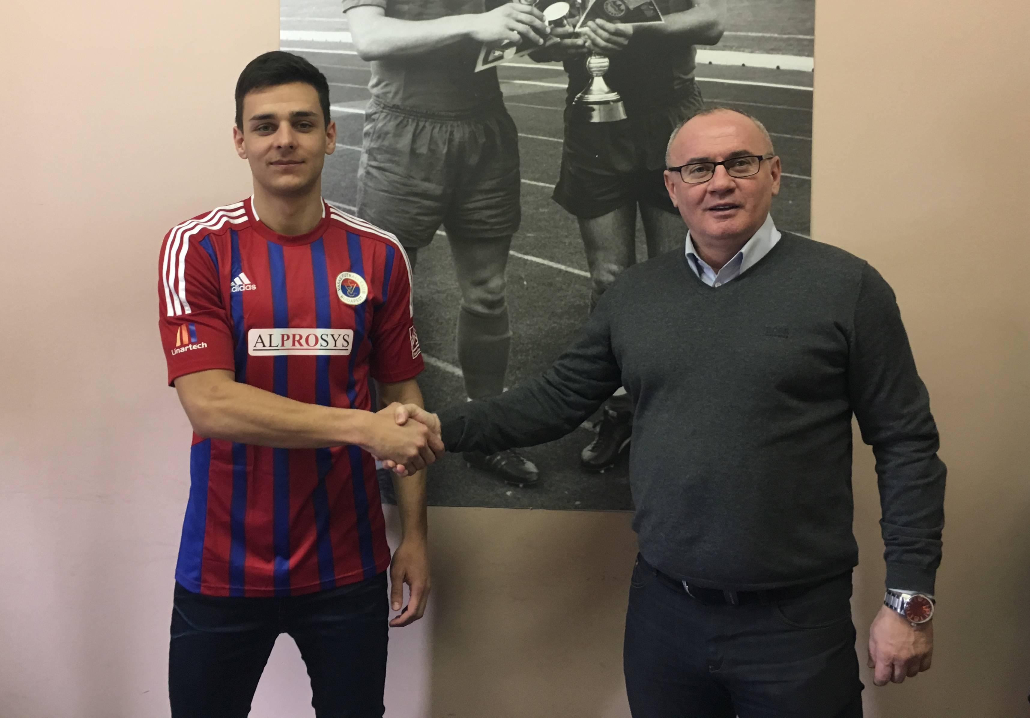 Gaál Bálint a Vasas játékosa lett!