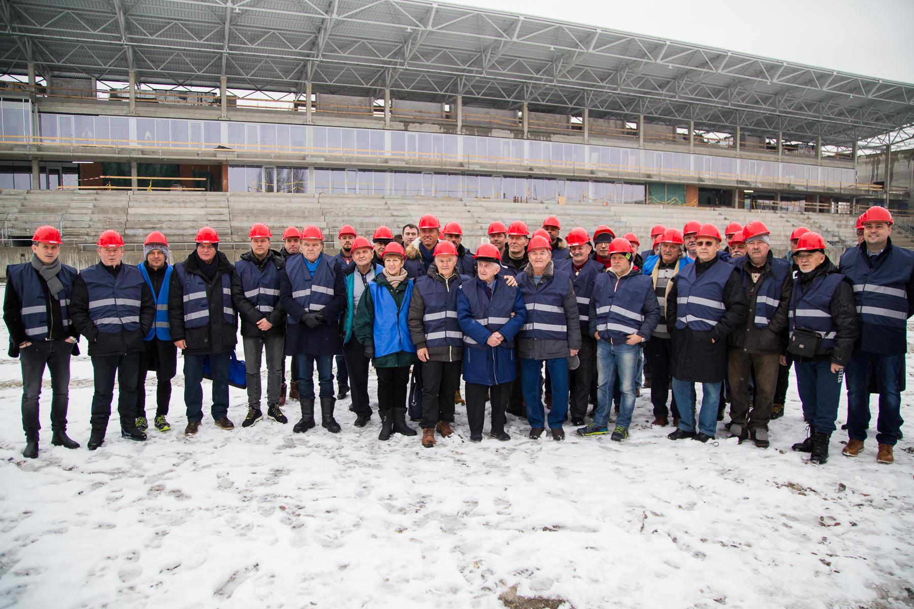Ősszel átadják az új stadionunkat