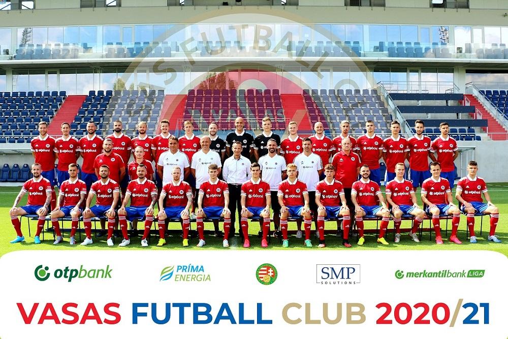 Vasas FC - hivatalos csapatfotó