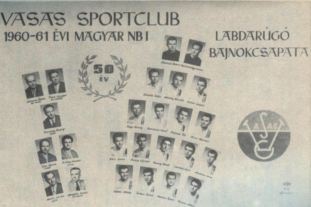 60 éve ünnepeltük második bajnoki címünket